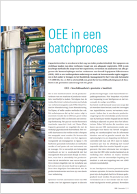 OEE in Batch processen - Batch processing bij Nuplex